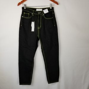 NWT Topshop Mom Jeans